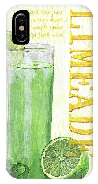 Summer Fruit iPhone Case - Limeade by Debbie DeWitt
