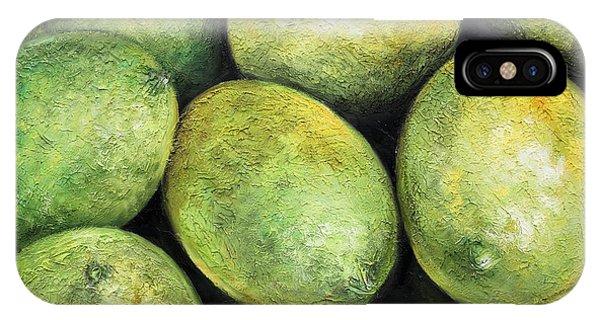 Limones IPhone Case