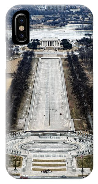 Lincoln And Wwii Memorials IPhone Case