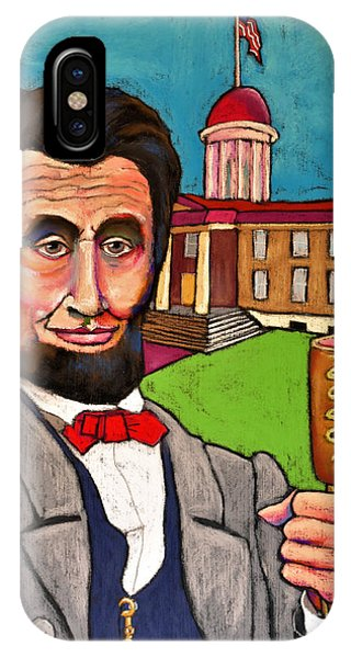 Capitol iPhone Case - Lincoln At The Capitol by David Hinds