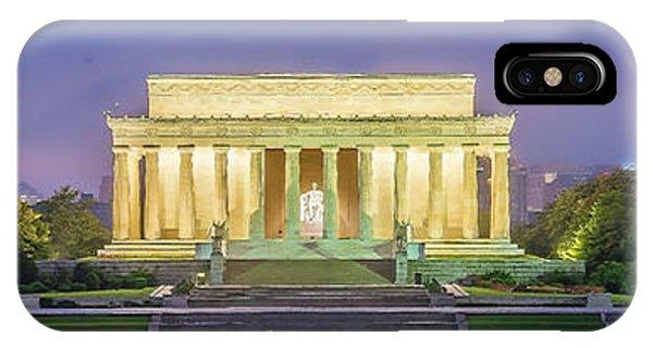 Lincoln Memorial iPhone Case - Lincoln Memorial by Baltzgar