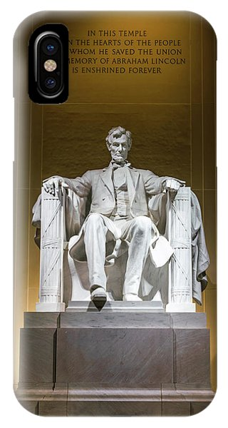 Lincoln Memorial iPhone Case - Lincoln Memorial by Larry Marshall