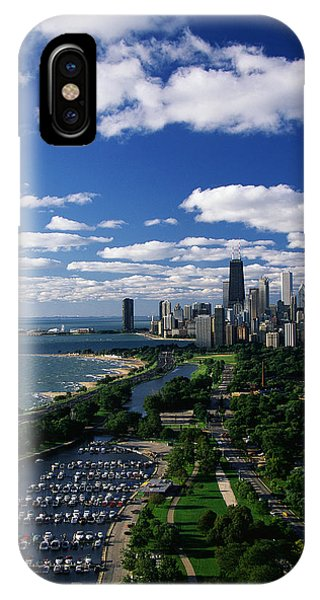 Chicago River iPhone Case - Lincoln Park And Diversey Harbor by Panoramic Images