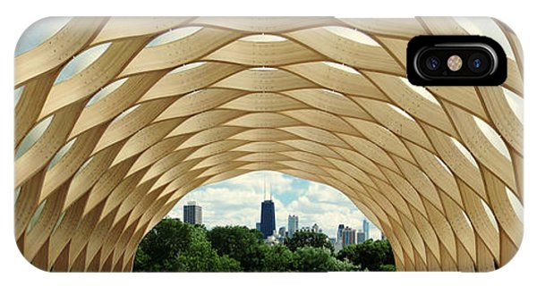 Lincoln Park Zoo Nature Boardwalk Panorama IPhone Case