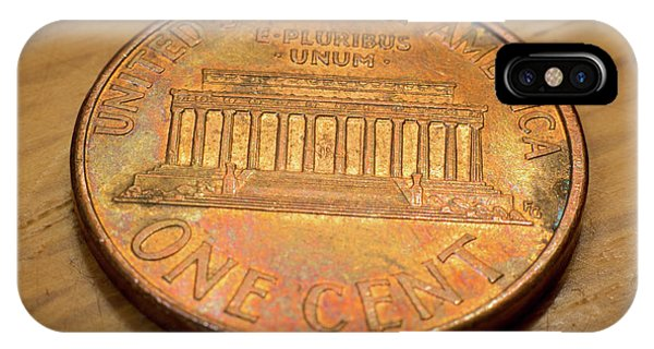 Lincoln Penny IPhone Case