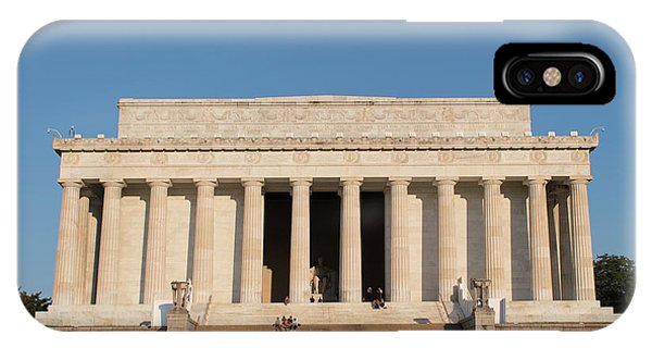 Lincoln's Memorial IPhone Case