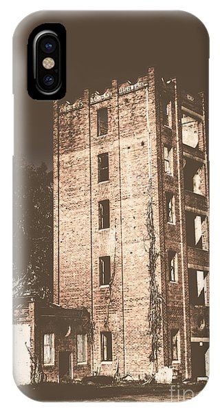 Timeworn iPhone Case - Lincolns Oakbank Brewery by Jorgo Photography - Wall Art Gallery