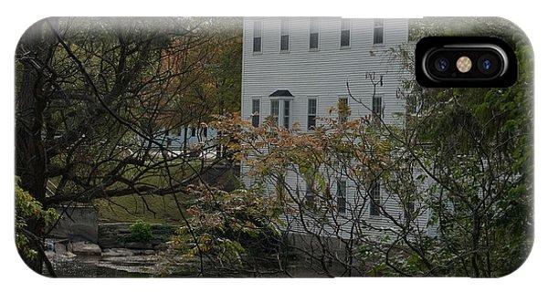 Linden Mill Pond IPhone Case