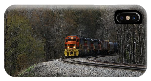 IPhone Case featuring the photograph Lindholm Train by Rick Morgan