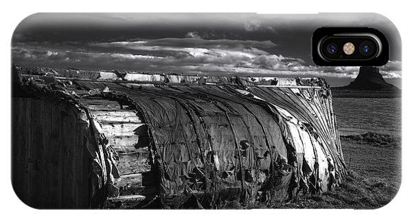 Castle iPhone X Case - Lindisfarne Castle by Smart Aviation