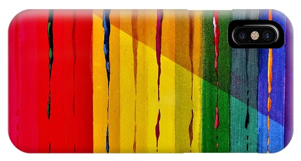 Line Of Fall Colors IPhone Case