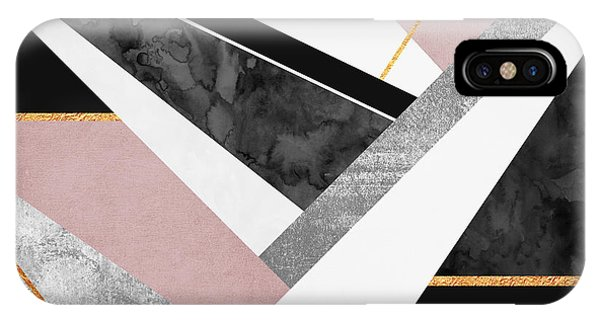 Detail iPhone Case - Lines And Layers by Elisabeth Fredriksson