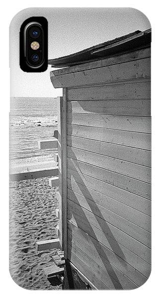 Lines In Ostia Beach IPhone Case