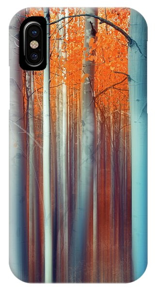 Lines Of Autumn IPhone Case