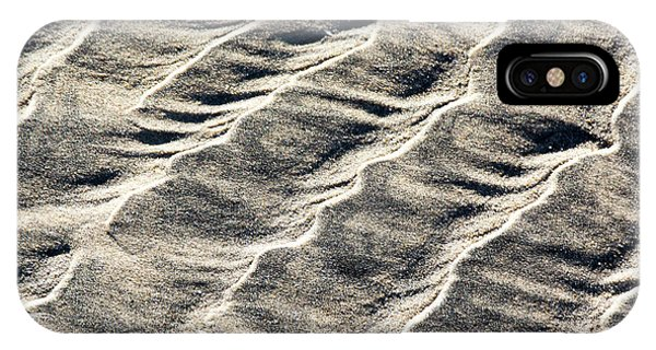 Lines On The Beach IPhone Case