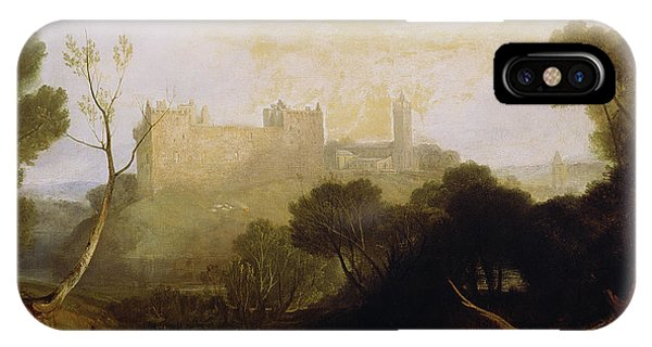 Palace iPhone Case - Linlithgow Palace by Joseph Mallord William Turner