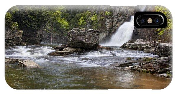 Linville Falls Basin IPhone Case
