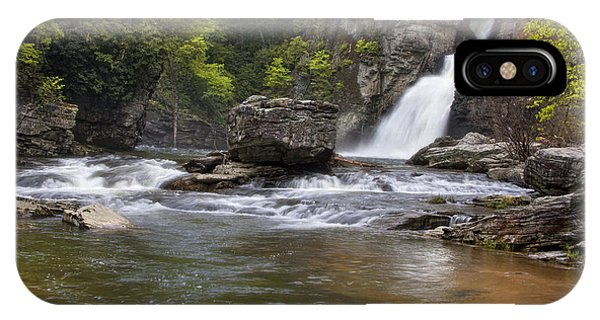 Linville Falls Basin IPhone Case