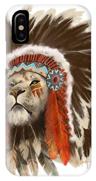 Lion Chief IPhone Case