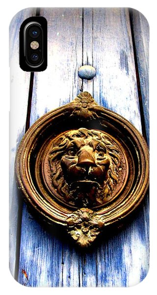 Lion Dreams IPhone Case