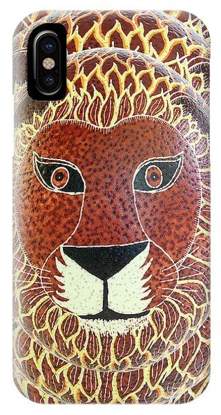 Lion 8x12 IPhone Case
