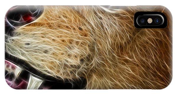 Lion Fractal IPhone Case