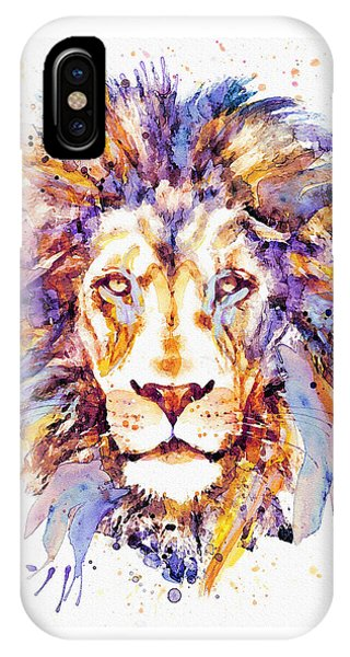Lion Head IPhone Case