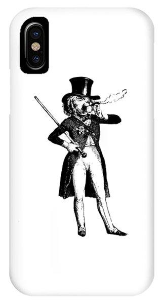 Lion King Grandville Transparent Background IPhone Case