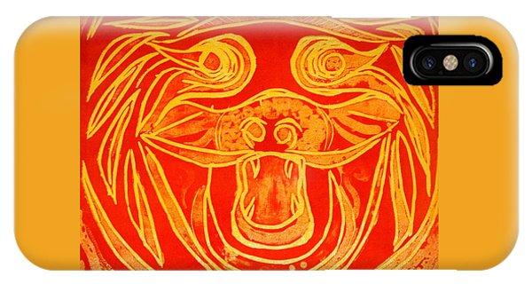 Lion Mask IPhone Case