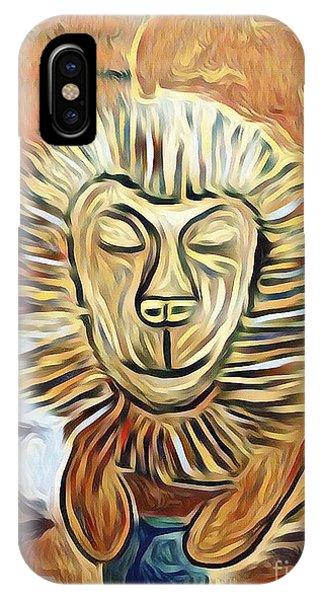 Lion Of Judah II IPhone Case