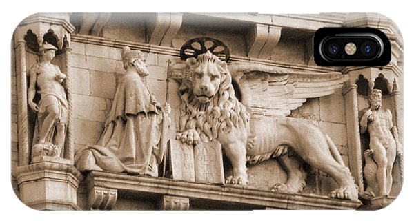 Lion Of Venice With The Doge IPhone Case