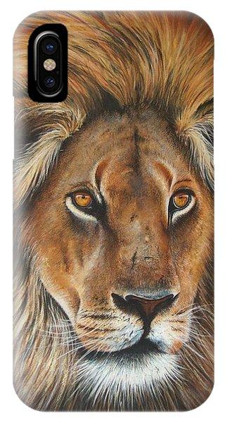 iPhone Case - Lion by Paul Dene Marlor