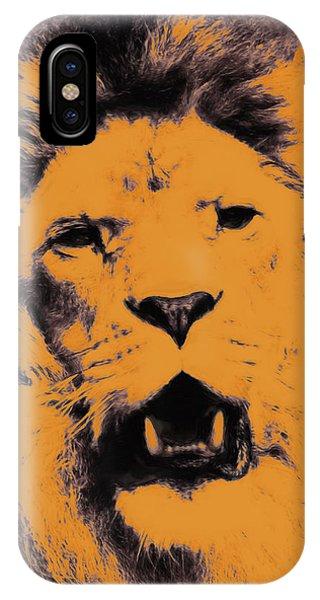 Lion Pop Art IPhone Case