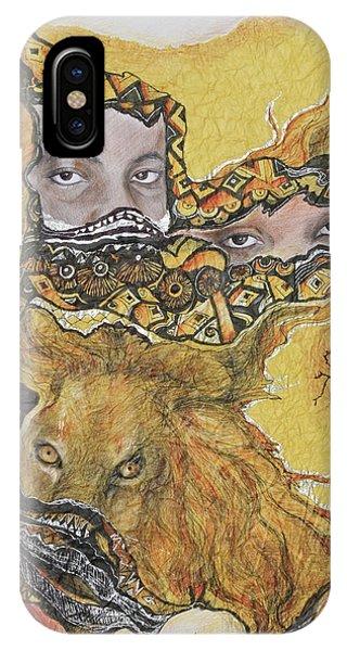 Lion Power IPhone Case