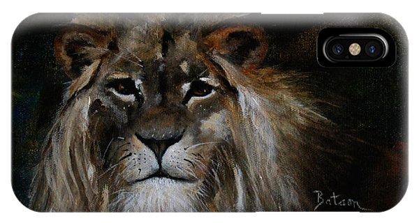 Sargas The Lion IPhone Case