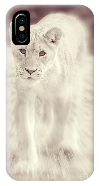 Lion Spirit Animal IPhone Case