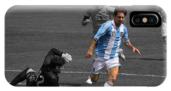 Lionel Messi The King IPhone Case