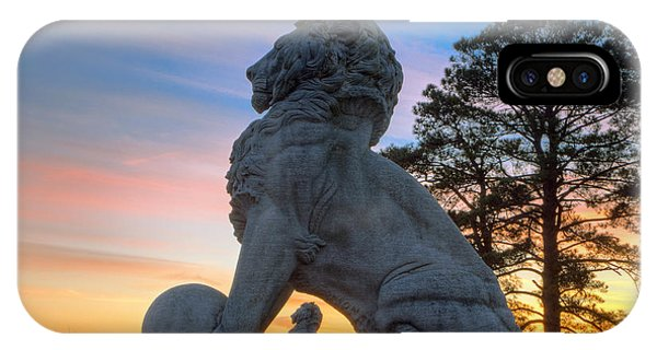 Lions Bridge At Sunset IPhone Case