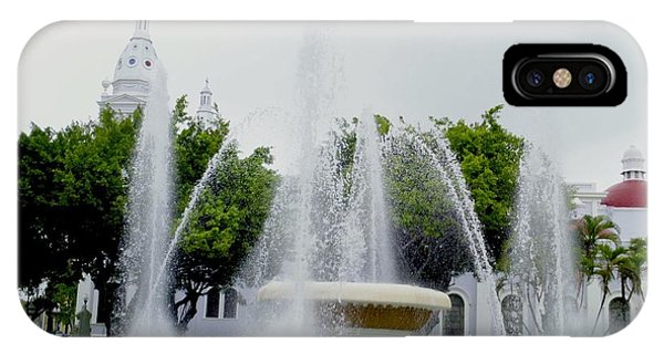 Lions Fountain, Ponce, Puerto Rico IPhone Case