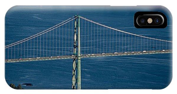 Lions Gate Bridge And Brockton Point IPhone Case