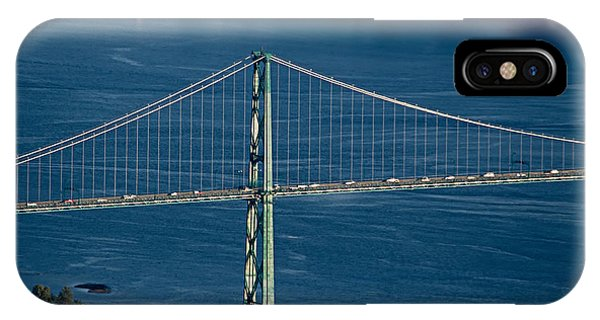 Lions Gate Bridge And Brockton Point IPhone Case