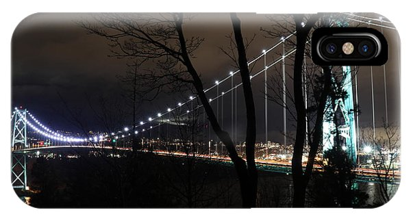 Lions Gate Bridge IPhone Case