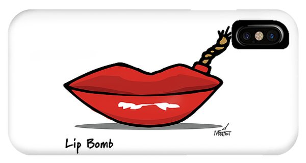 Lip Bomb IPhone Case