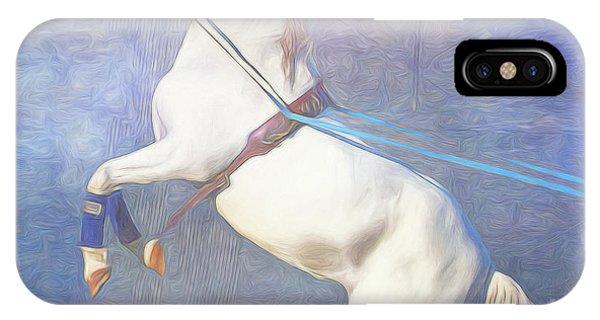 Lipizzaner Stallion Square IPhone Case