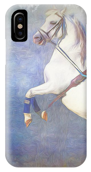Lipizzaner Stallion Square IPhone Case
