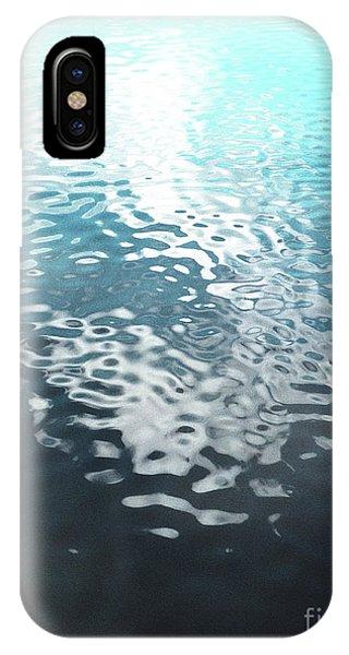 Liquid Blue IPhone Case