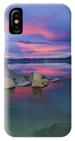 IPhone Case featuring the photograph Liquid Dreams Portrait by Sean Sarsfield