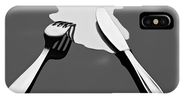 Reflection iPhone Case - Liquid Food by Gert Lavsen