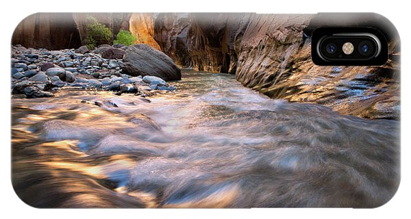 Liquid Gold Utah Adventure Landscape Photography By Kaylyn Franks IPhone Case