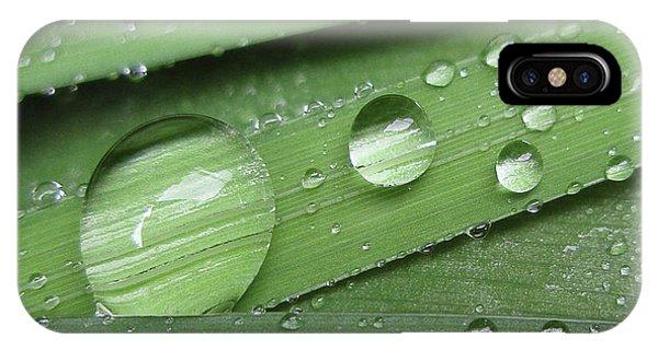 Liquid Light On Iris IPhone Case